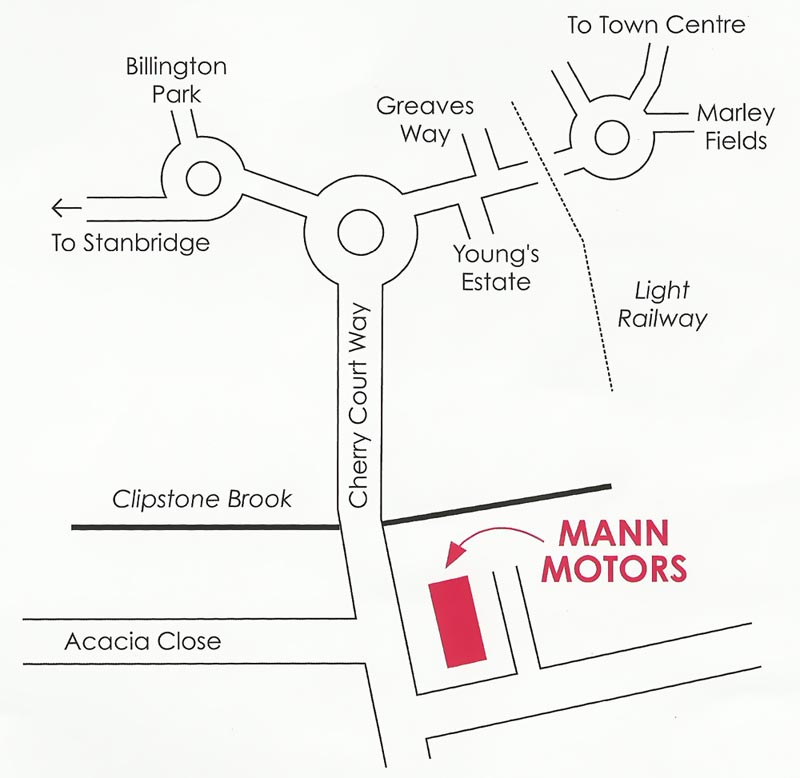 Our location in Leighton Buzzard
